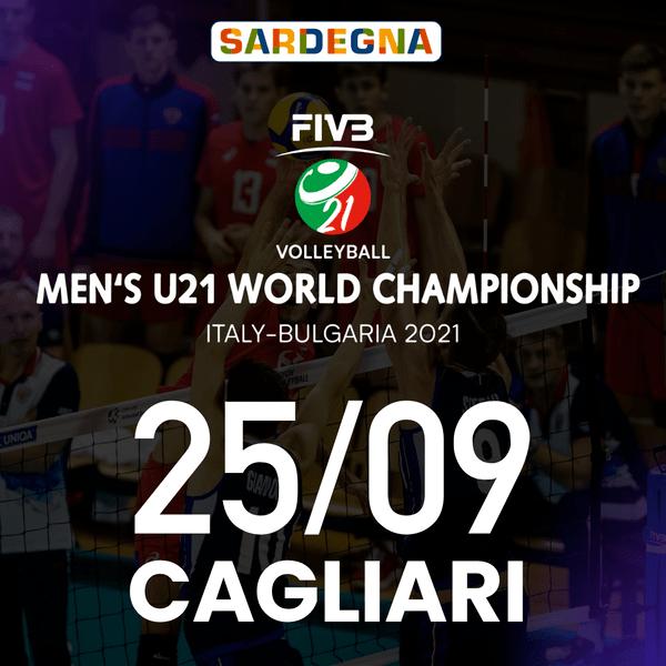 Cagliari - 25/09 FIVB Men's U21 World Championship Palapirastu - Cagliari Cagliari