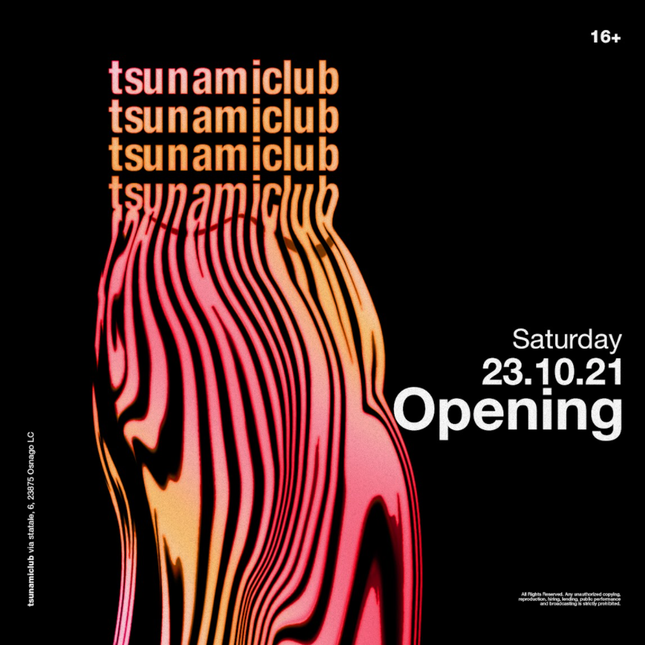 Tsunamiclub Opening 23.10.2021 TSUNAMICLUB / LC