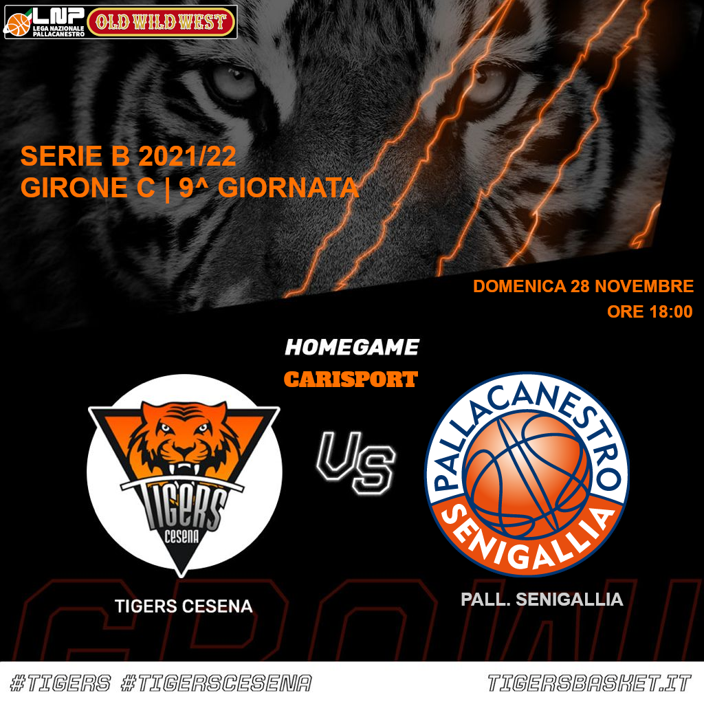 Tigers vs. Pallacanestro Senigallia CARISPORT / FC
