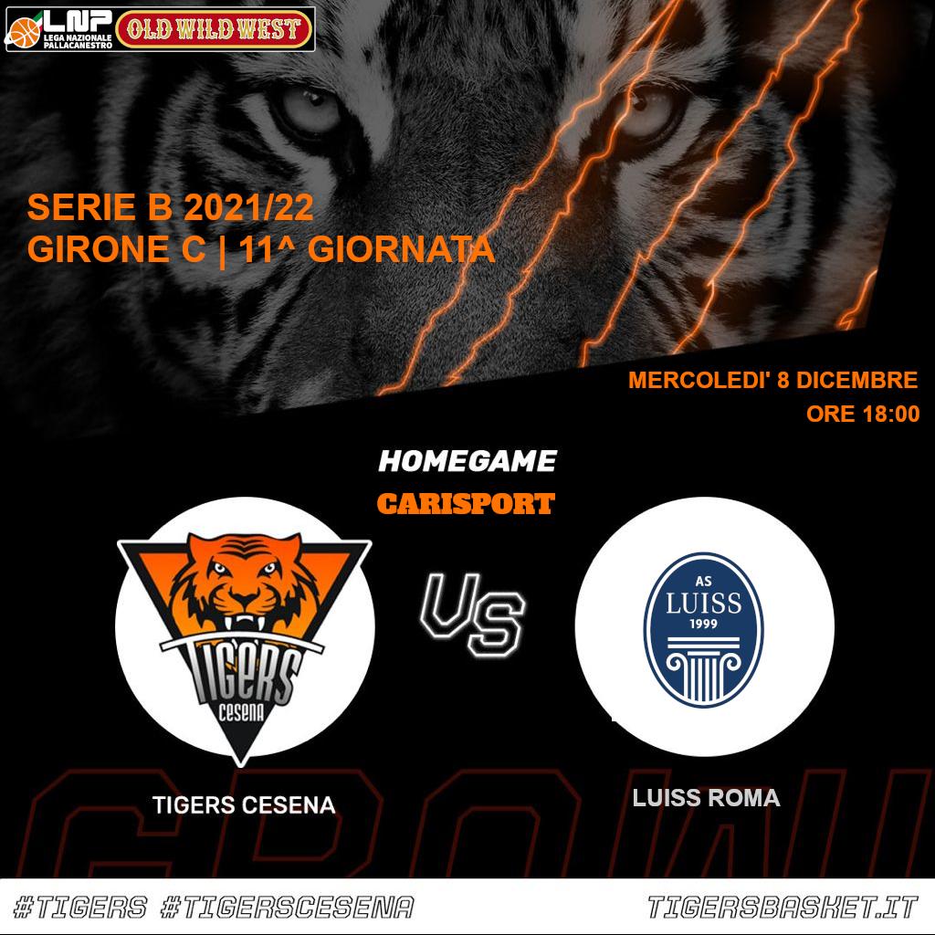 Tigers vs. Luiss Roma CARISPORT / FC