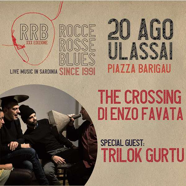 """""""The Crossing"""" di Enzo Favata + Trilok Gurtu Piazza Barigau / NU"""