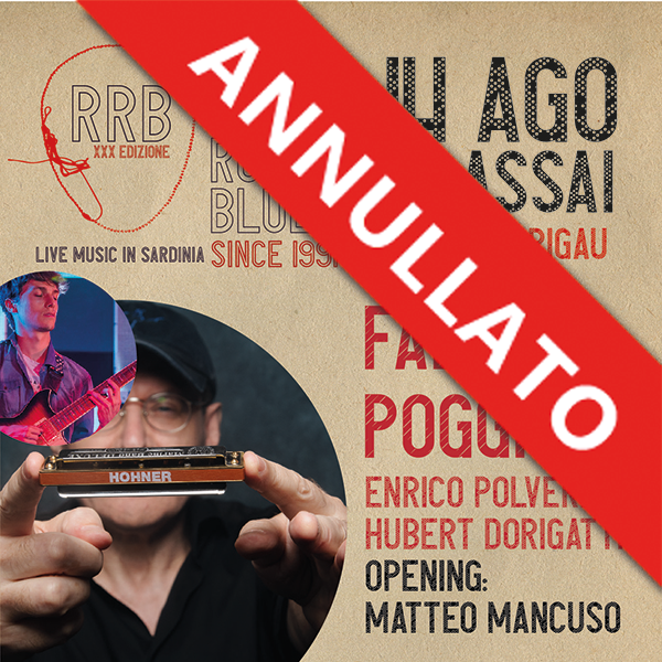 Blues Night Piazza Barigau Ulassai