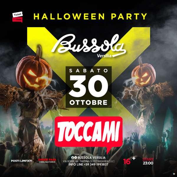 Toccami Halloween edition - Bussola Versilia - Marina di Pietrasanta Bussola Versilia / LU