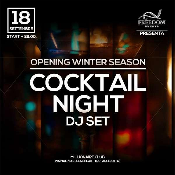Opening Winter Season Millionaire Club Trofarello