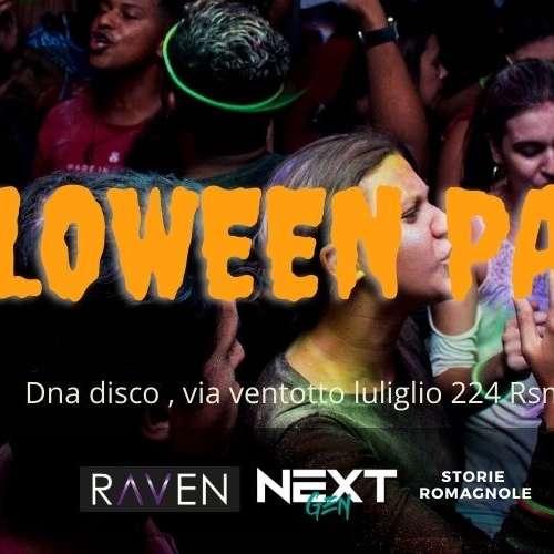Riana Hallowen party  Dna Disco San Marino / SA