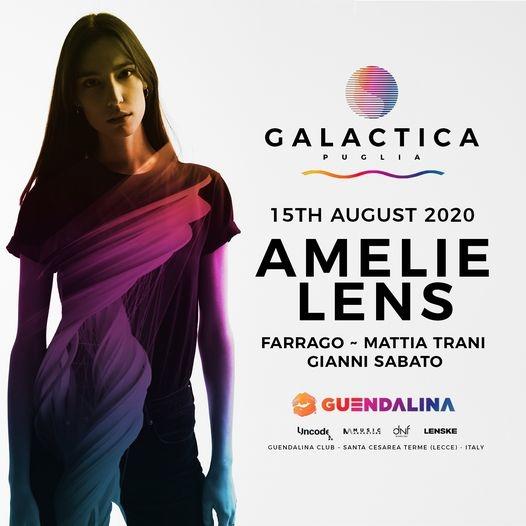15 Agosto - AMELIE LENS - Galactica Puglia - Guendalina Guendalina Santa Cesarea Terme