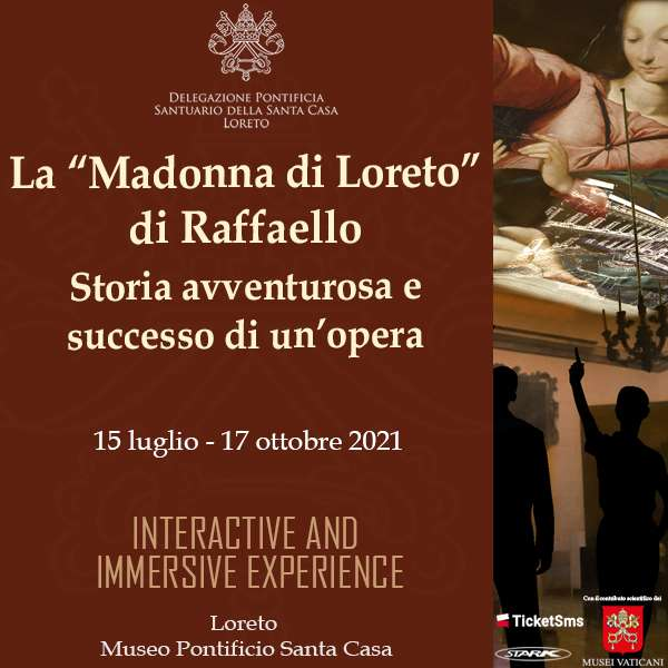 10.08 Mostra sulla Madonna del Velo di Raffello Museo Pontificio Santa Casa / AN