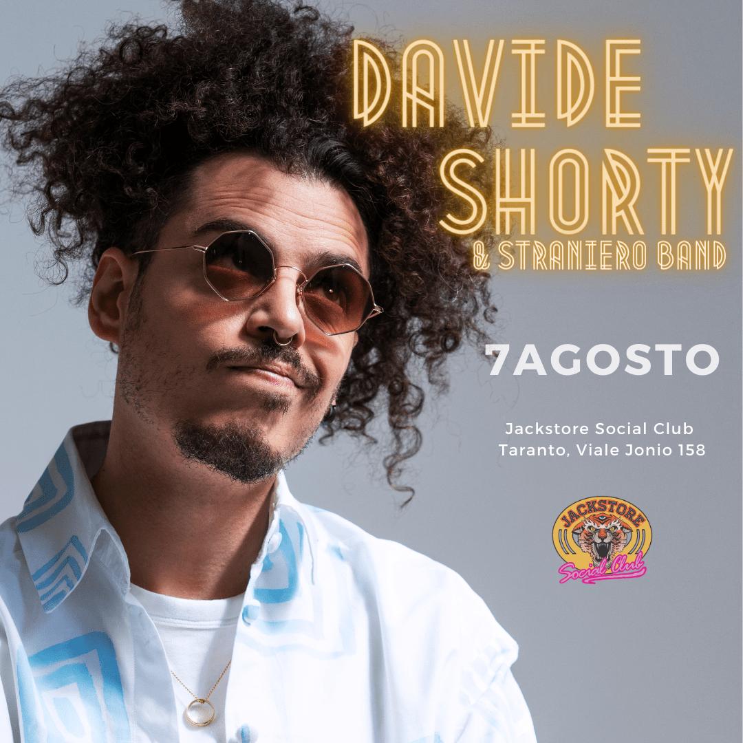 DAVIDE SHORTY & STRANIERO BAND JACKSTORE SOCIAL CLUB / TA