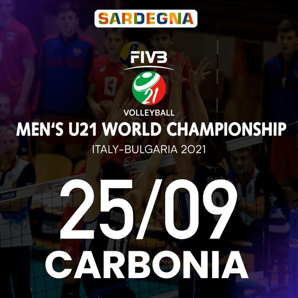 Carbonia - 25/09 FIVB Men's U21 World Championship Palazzetto dello Sport - Carbonia Carbonia