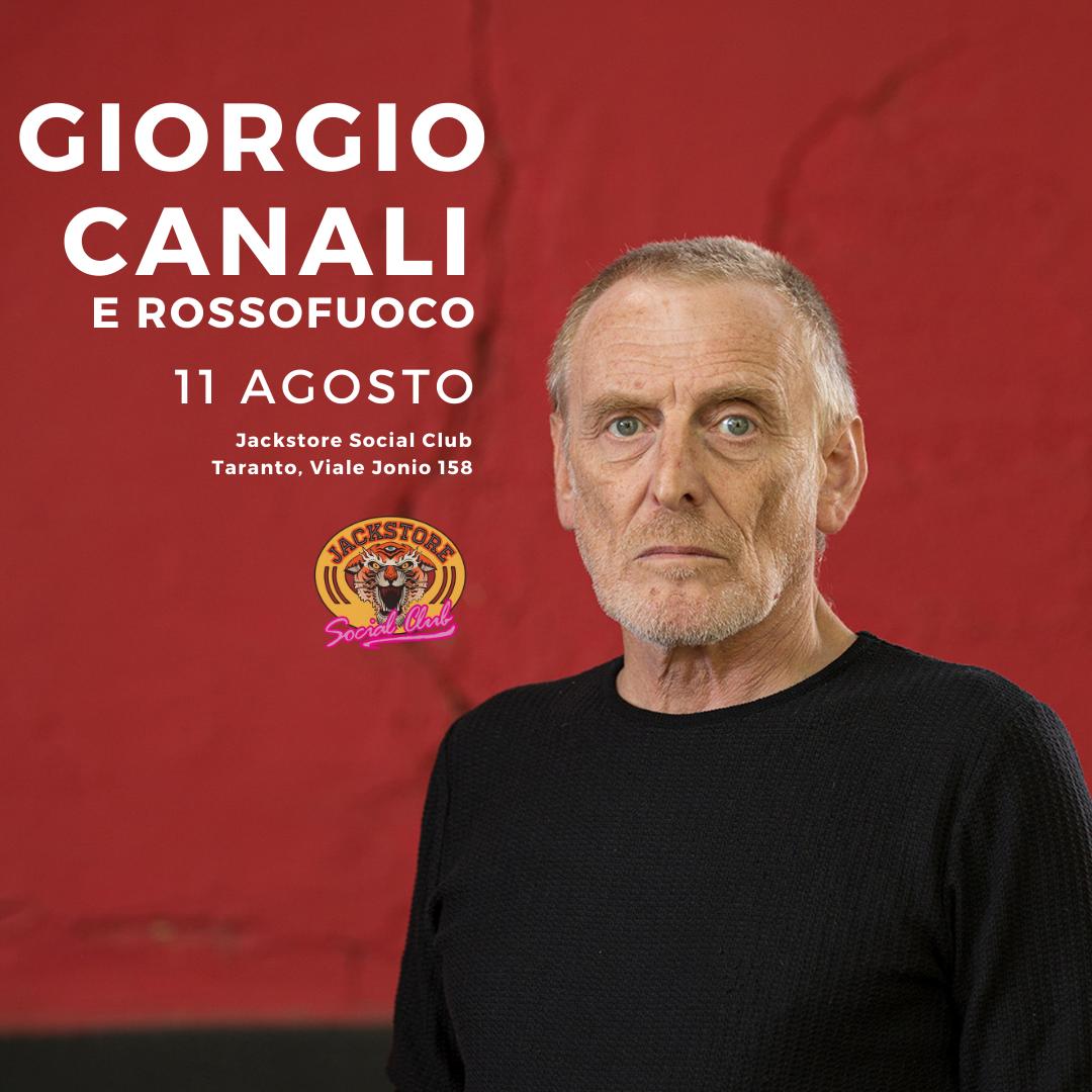GIORGIO CANALI E ROSSOFUOCO JACKSTORE SOCIAL CLUB / TA
