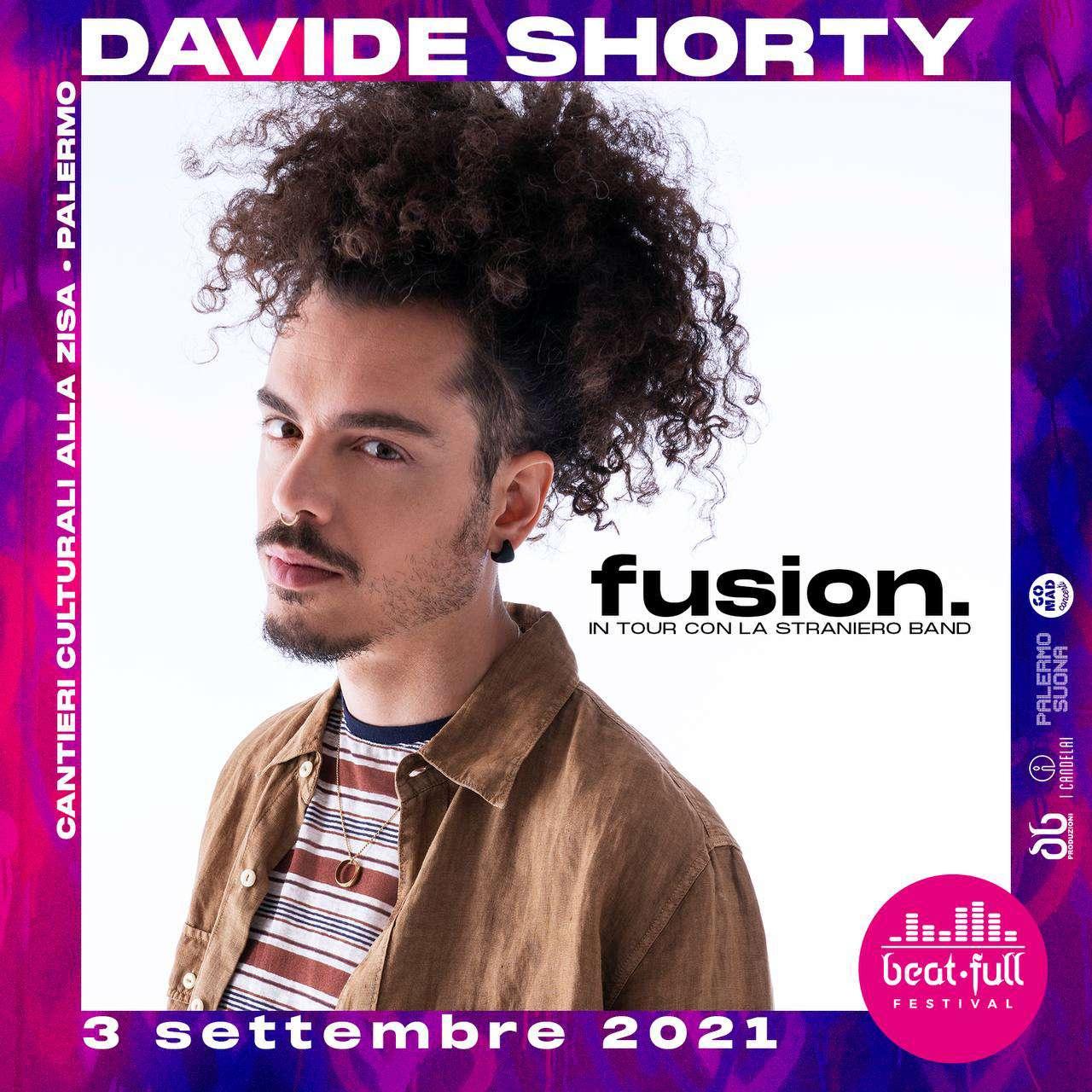 BEAT FULL FESTIVAL 2021 - Davide Shorty + Nicolò Carnesi Cantieri Culturali alla Zisa / PA