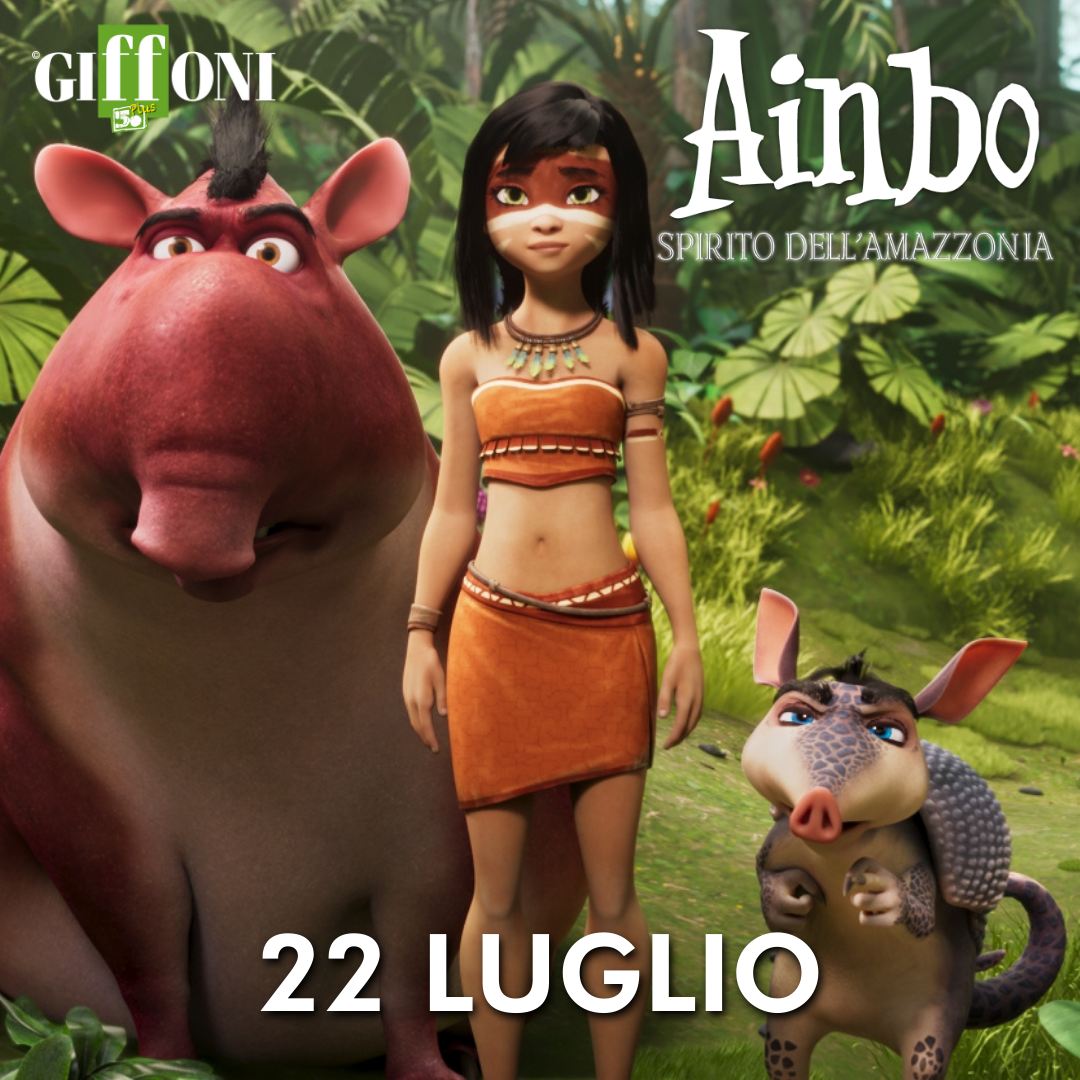 AINBO - SPIRITO DELL'AMAZZONIA SALA TRUFFAUT GIFFONI VALLE PIANA