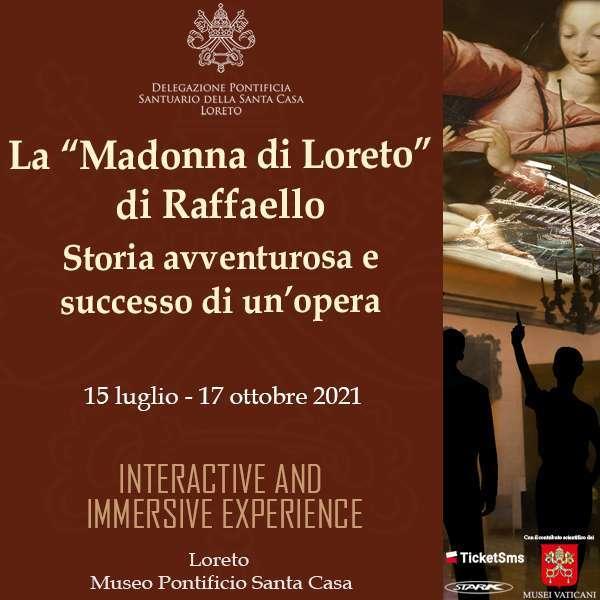 20.08 - Mostra sulla Madonna del Velo di Raffello Museo Pontificio Santa Casa / AN