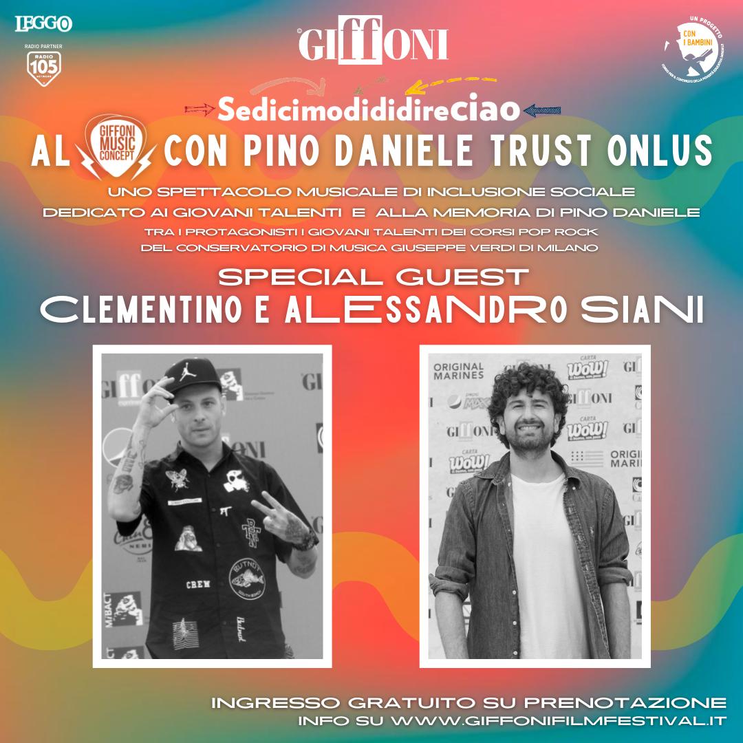 Sedicimodididireciao con Pino Daniele Trust Onlus Arena  Lumière - Showcase Live  GIFFONI VALLE PIANA