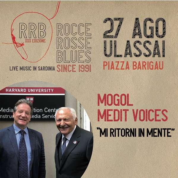 Mogol + Medit Voices  Piazza Barigau Ulassai