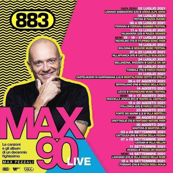 Max Pezzali - Max 90 Live Rotonda del lungomare Taranto
