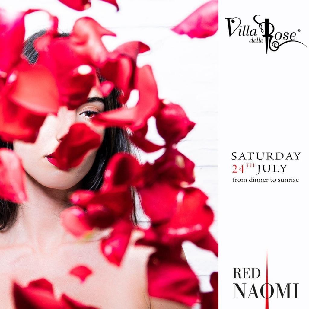RED NAOMI - Dj Zucchi / sartini  Voice Monies - Villa delle rose  Villa delle Rose  misano adriatico
