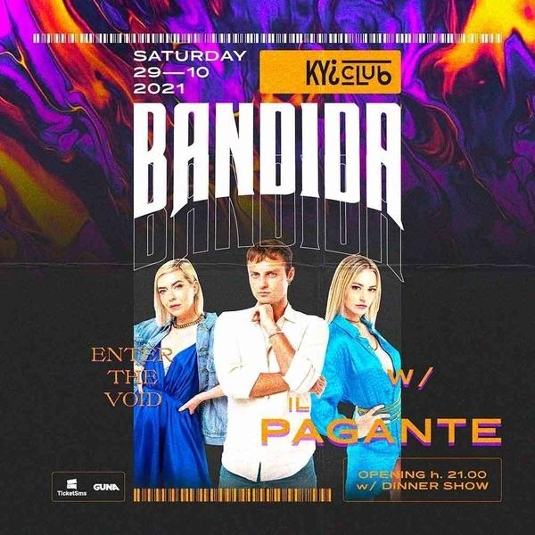 *IL PAGANTE* Venerdi 29 Ottobre  KYI CLUB LIVE / MO