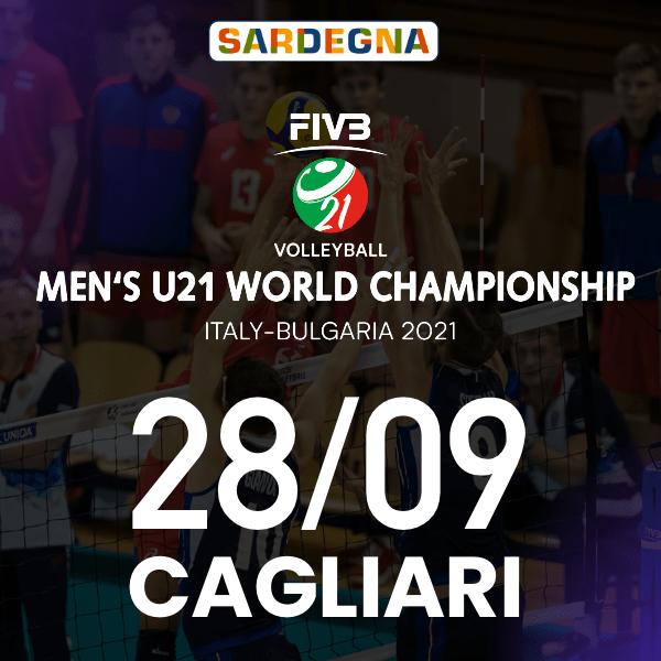 Cagliari 28/09 - FIVB Men's U21 World Championship Palapirastu - Cagliari / CA