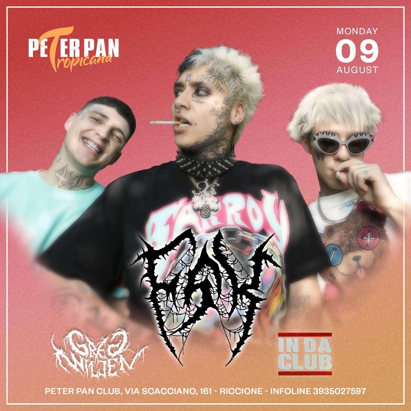 FSK - LUNEDI' 9 AGOSTO Peter Pan Club / RN