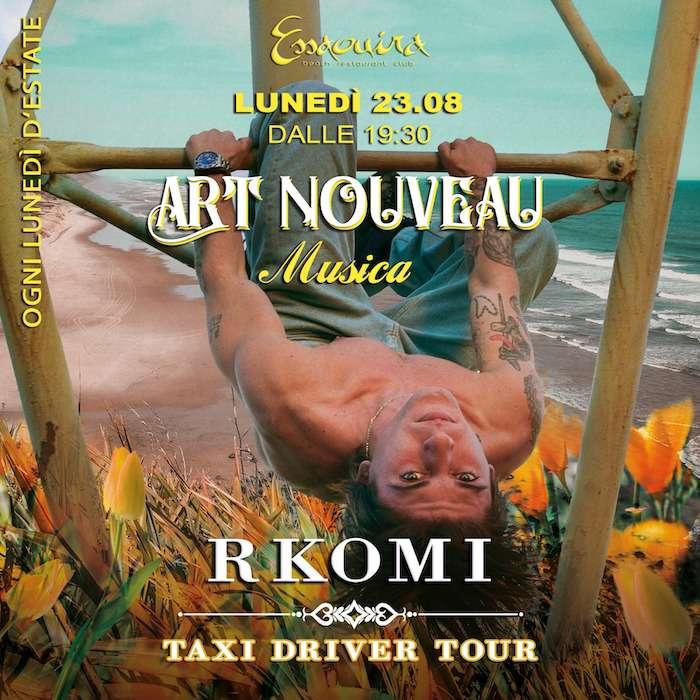 ART NOUVEAU Musica w/ RKOMI Essaouira Club / SV