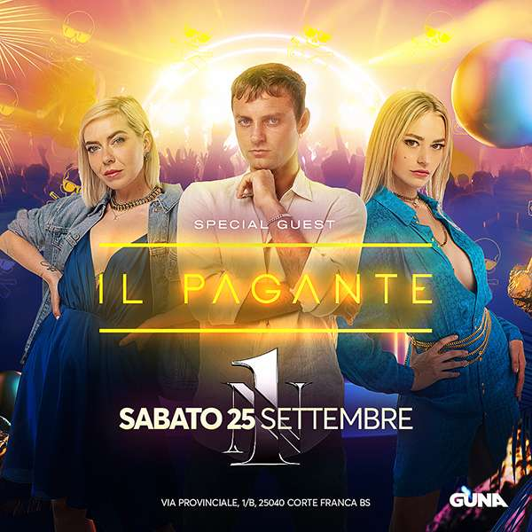 25/09 IL PAGANTE - NUMBER ONE NUMBER ONE / BS