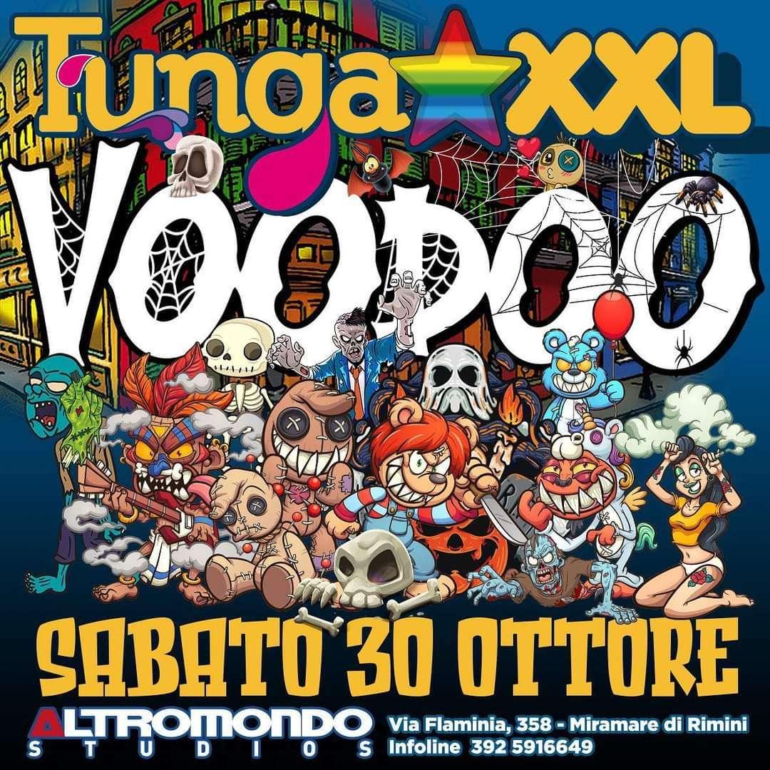 30/10 TUNGA HALLOWEEN ALTROMONDO STUDIOS Altromondo Studios / RN