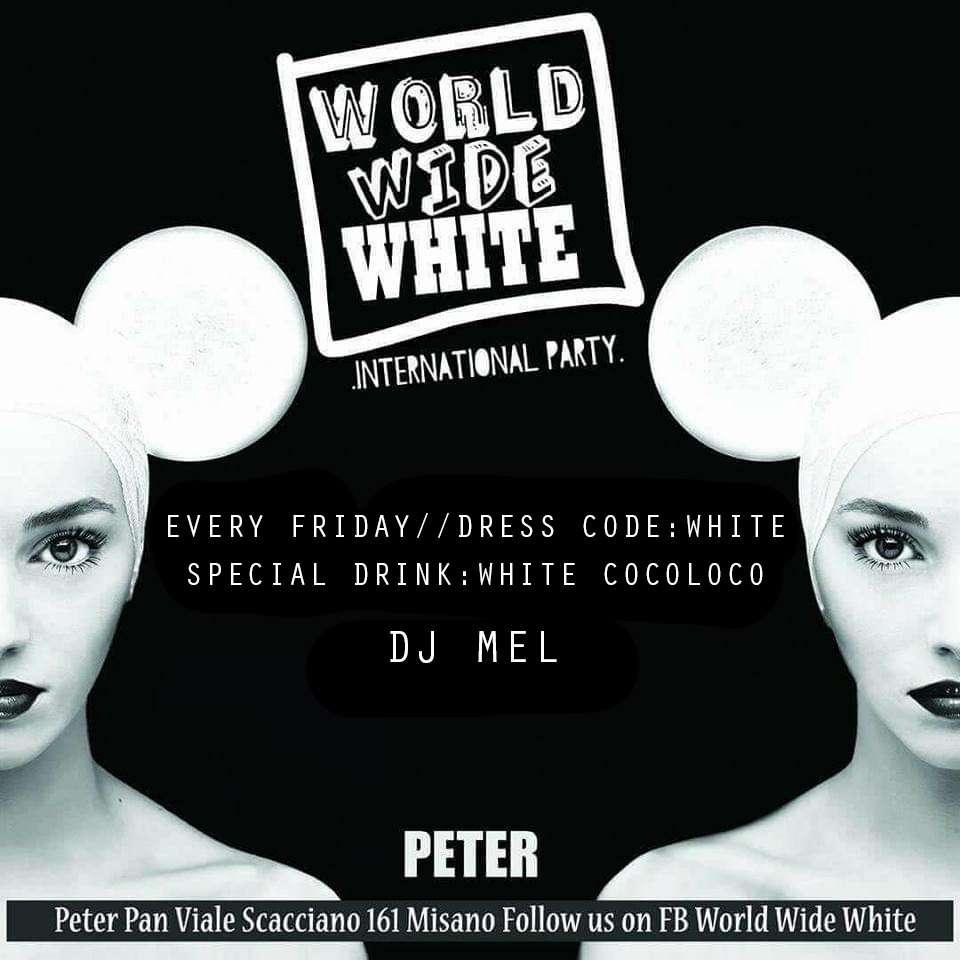 WORLD WIDE WHITE Peter Pan Club / RN