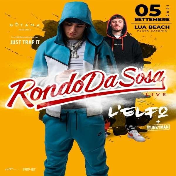 Rondodasosa + L'Elfo in concerto a Catania Lua Beach Catania