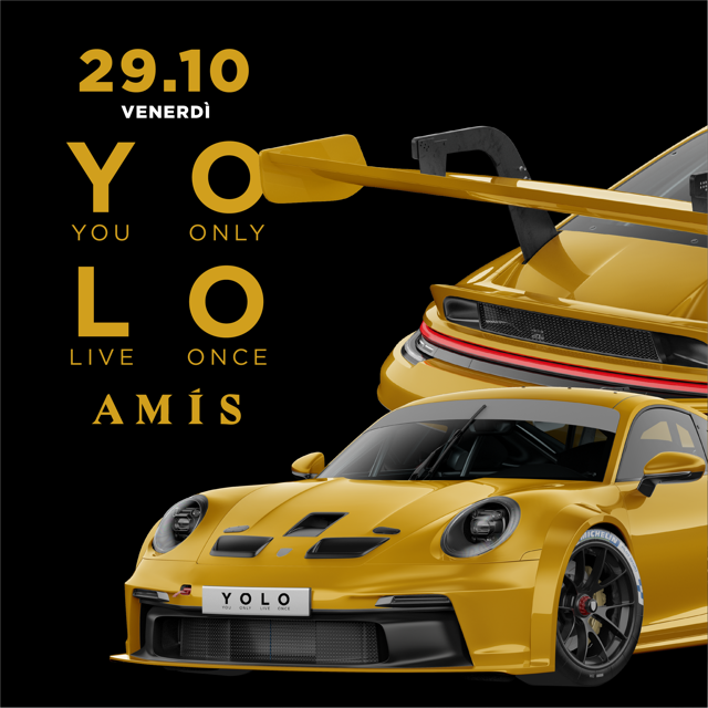 YOLO Hip Hop Party | Back to Vicenza | AMIS Club AMIS CLUB / VI