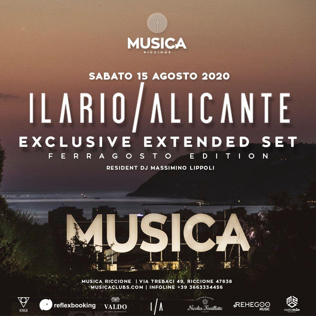 15.08 Musica Riccione w/ Ilario Alicante Massimino Lippoli Musicariccione RICCIONE