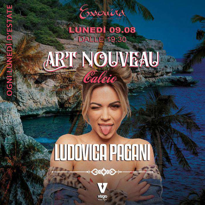 Art Nouveau Musica w/ LUDOVICA PAGANI Essaouira Club / SV