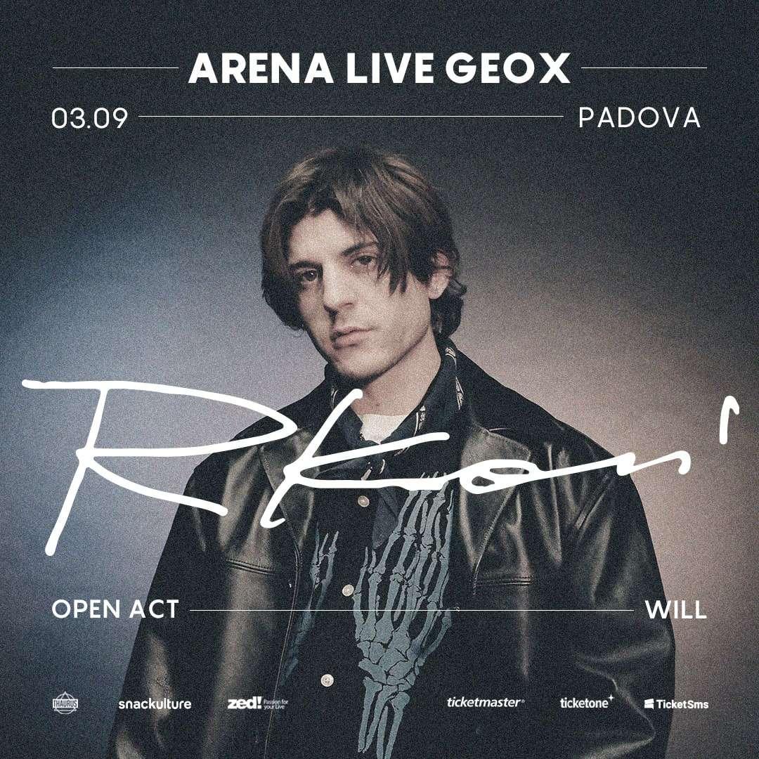 RKOMI - Padova 03/09/2021 Arena Live Geox / PD