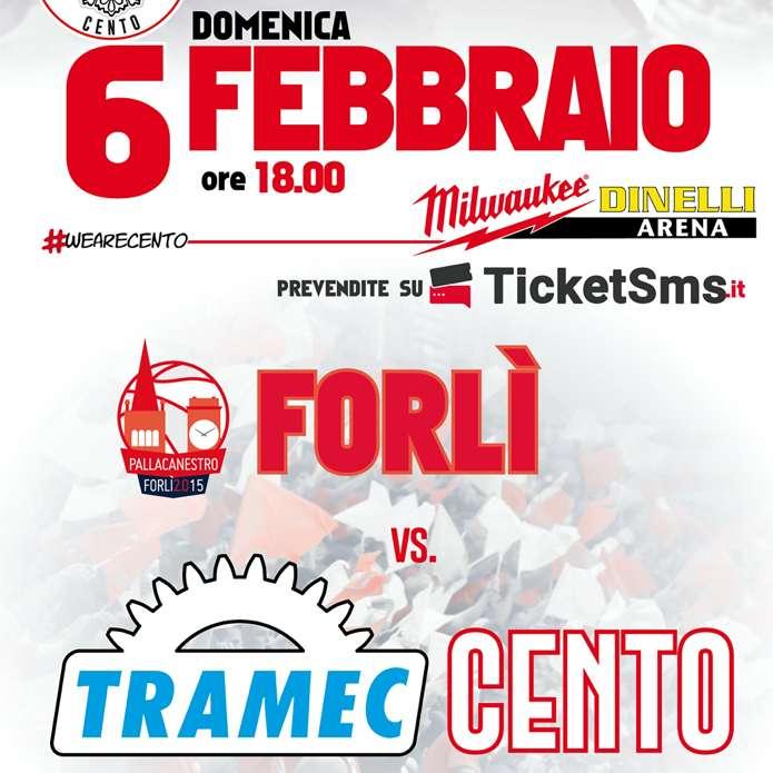 Tramec Cento vs. Forlì Milwaukee Dinelli Arena / FE