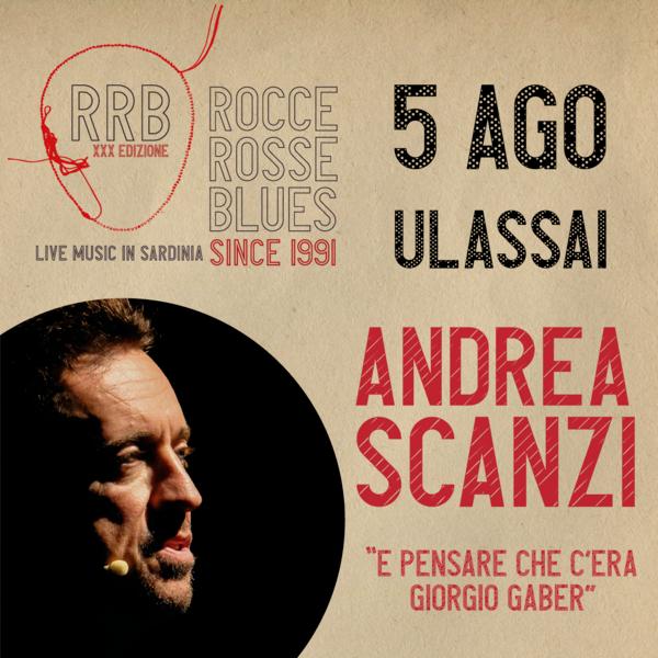 """Andrea Scanzi """"E pensare che c'era Giorgio Gaber"""" Piazza Barigau Ulassai"""