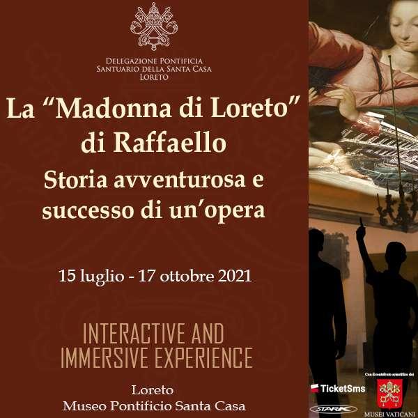 31.07 Mostra sulla Madonna del Velo di Raffello Museo Pontificio Santa Casa / AN
