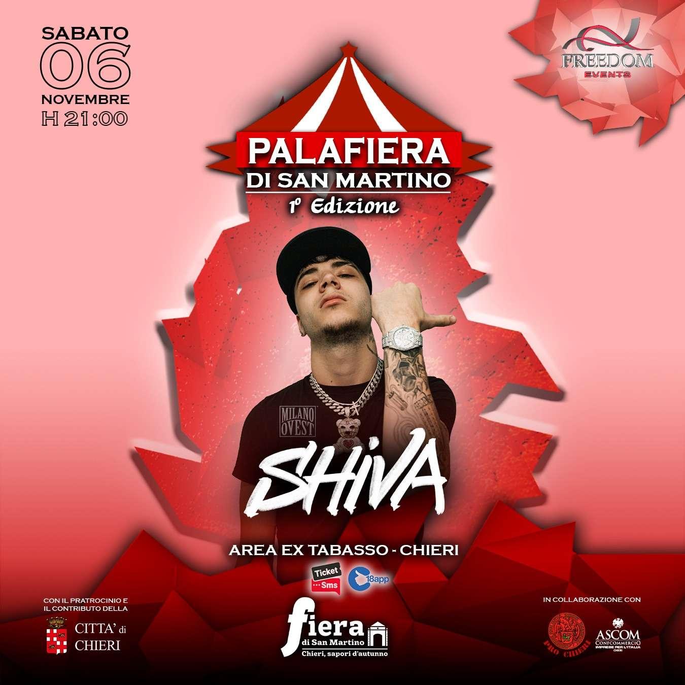 SHIVA IN CONCERTO - AREA EX TABASSO, CHIERI AREA TABASSO  / TO