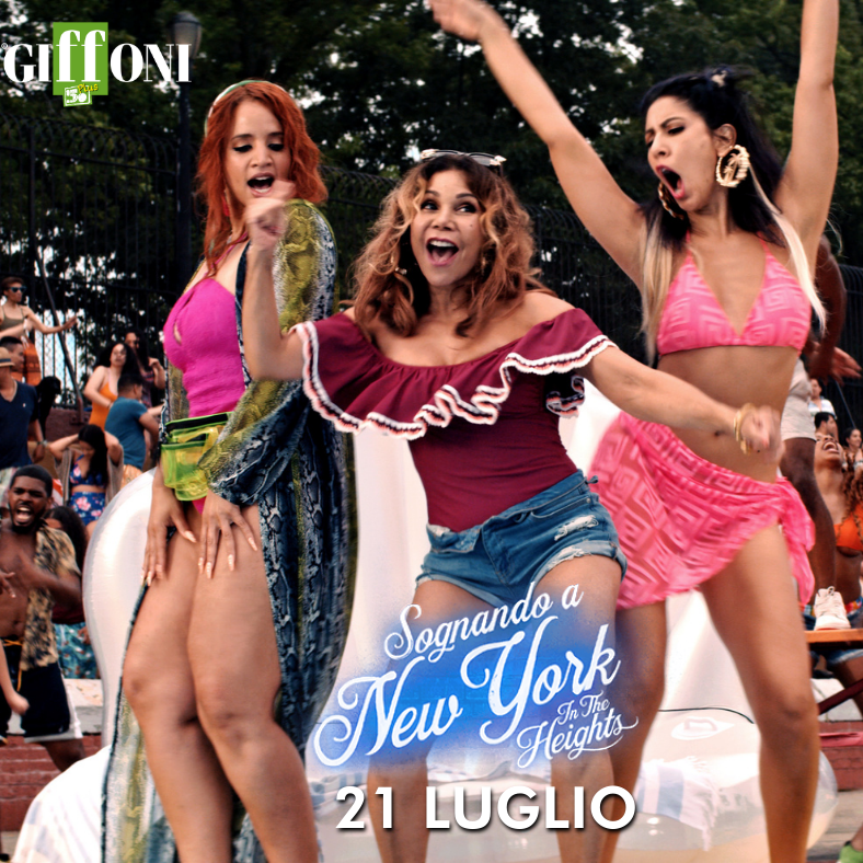 SOGNANDO A NEW YORK - IN THE HEIGHTS SALA TRUFFAUT GIFFONI VALLE PIANA